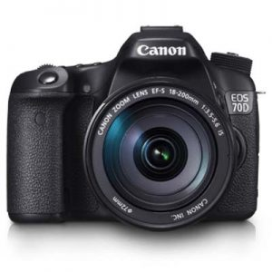 Canon EOS 70D 18-200mm IS STM – WiFi