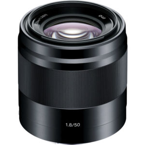 E 50mm f1.8 OSS Black
