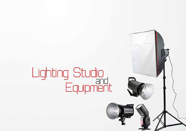 Lighting Studio dan Equipment