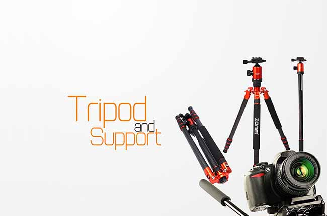 Tripod dan Support