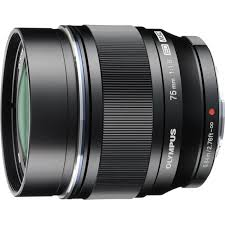 Zuiko ED 75mm f1.8G Black