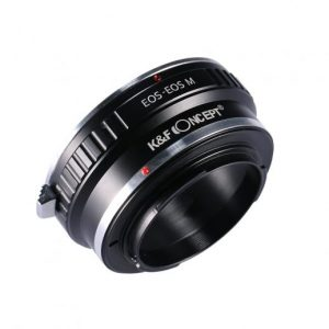 KF Lens Adapter Mount EOS - EOS M (1)
