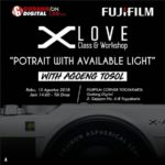 """Workshop Fujifilm """"POTRAIT WITH AVAILABLE LIGHT"""""""