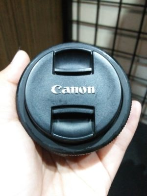 Canon EF-S 24mm f2.8a