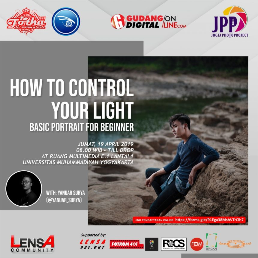 How To Control Your Light – Basic Portrait For Beginner by Yanuar Surya