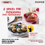 8 Spices for Fujilicious Food Photography with Inijie