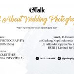 "Pendaftaran Event ""All About Wedding Photography"""